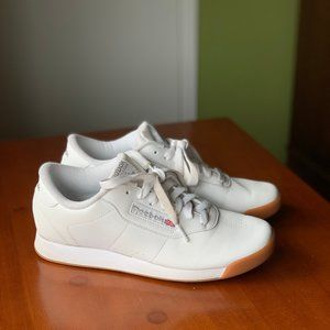 Reebok Princess Classic sneakers sz 7.5 nearly new